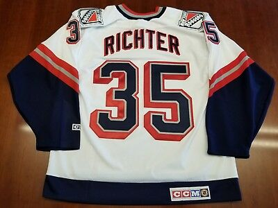 on sale 29d1b cd003 mike richter jersey