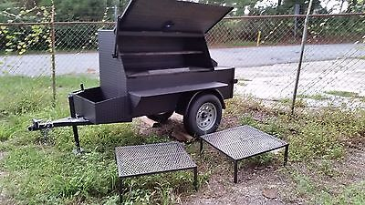 $3799 • Buy Rotisserie Pro BBQ Business Smoker Grill Food Truck Catering Trailer Concession
