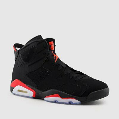 timeless design c653f ec3cf Nike Air Jordan Retro 6 VI BLACK INFRARED OG 2019 Men   GS 384664-060