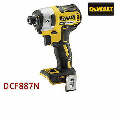 $181.89 • Buy DEWALT DCF887N 18V Brushless Impact Driver Cordless Drill Bare Tool Body Only A_