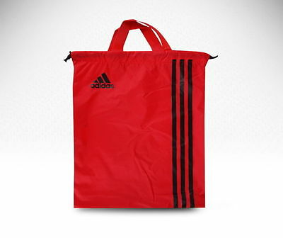 $14.12 • Buy ADIDAS Authentic RED Sports Shoes Bag For Tennis Football Golf Gym BG9408 Areeso