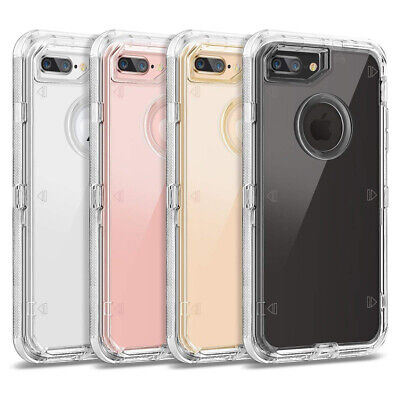 AU6.49 • Buy Clear Crystal Hybrid Defender Case Cover For IPhone X XS Max 6 7 8 11 Pro Max