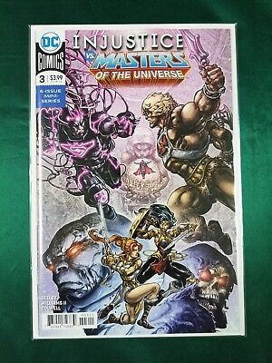 $3.19 • Buy Injustice VS Masters Of The Universe Issue #3 DC Comic Regular Cover