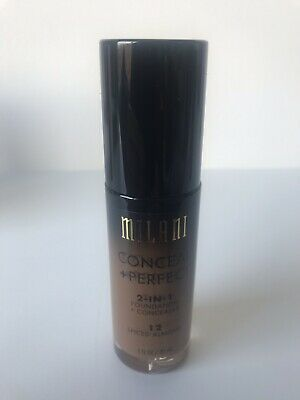 Milani Conceal + Perfect 2-in-1-foundation + Concealer - Shade 12 Spiced Almond • 8£