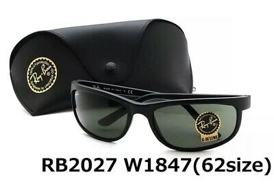 83367ee9b9 Ray-ban Predator 2 Rb2027 W1847 62mm Matte Black / Green Classic G-15