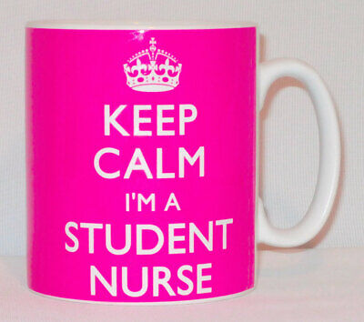 Keep Calm I'm A Student Nurse Mug Can Be Personalised Great Hospital RCN Gift • 8.99£