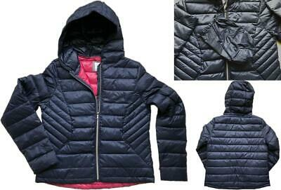 NEW IN! NEXT Ladies NAVY Packaway Padded Puffa Duck Down Coat Jacket £50 6 - 22 • 24.95£