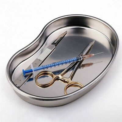 £4.05 • Buy Dental Medical Instrument Kidney Form Stainless Steel Tray Bowl Dish 18*11*2mm