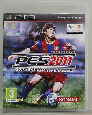 AU32.63 • Buy Pro Evolution Soccer 2011 - Playstation 3 - Pal Spain - Full - Physical CD