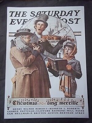 $ CDN12.70 • Buy Saturday Evening Post December 8 1923 Norman Rockwell (COVER ONLY) Reprint