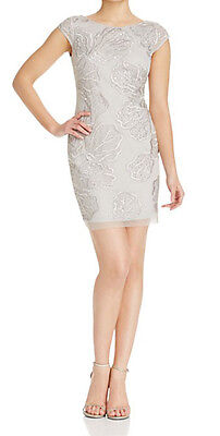 $29.39 • Buy Aidan Mattox New Embellished Cocktail Dress Size 6 MSRP $375 #BN 1001 (d)