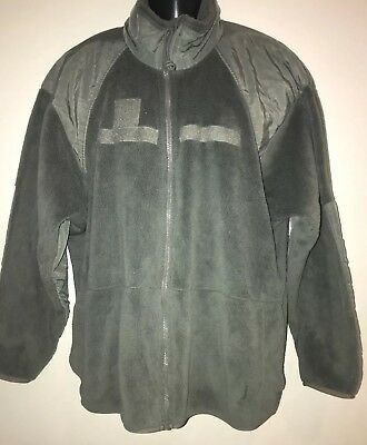 US Military Polartec Thermal Pro Jacket Gen III USMC ARMY ECWCS Fleece Med Reg • 27$