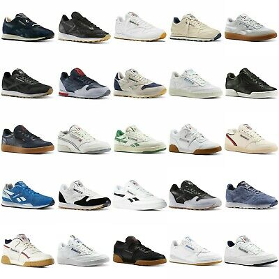 AU53.47 • Buy Reebok Men's Classic Trainers Leather Work Out Nylon Revenge New Shoes Club C 85