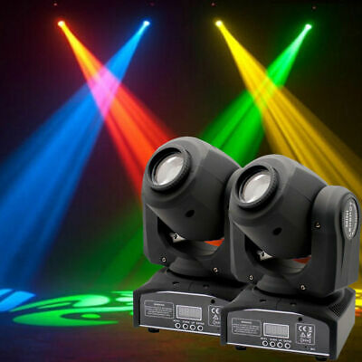 2x U`King 30W LED Moving Head Stage Light DMX Spot DJ Gobo DMX Disco Club Party • 129.99£