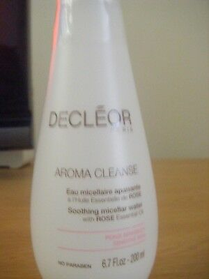 Decleor Soothing Micellar Water 200ml Sealed • 12.50£