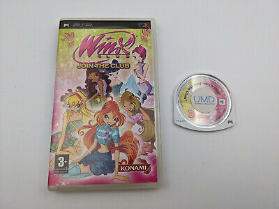 Winx Club: Join The Club - PSP Game - Playstation Portable - Free, Fast P&P! • 39.95£