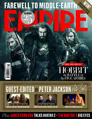 EMPIRE January,The Hobbit The Battle Of The Five Armies Thorin Richard Armitage  • 79.99£