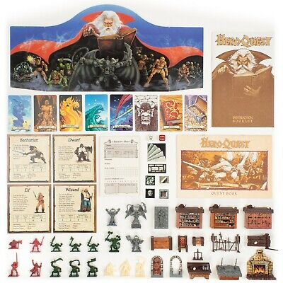 HeroQuest Parts | Complete Or Expand Your Game! • 4.95$