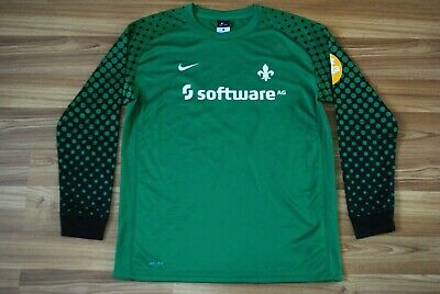 d169ec432 DARMSTADT 98 GOALKEEPER FOOTBALL SHIRT JERSEY NIKE SIZE YOUNG XL 160-170 Cm  (S