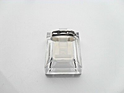 Ladies Solid 925 Sterling Silver Ring Size M With 3 X CZ Stones • 12.95£