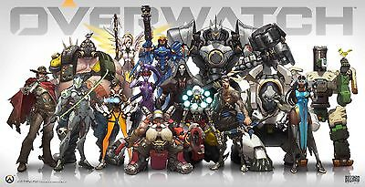 AU12.27 • Buy Overwatch Poster | Sizes A4 To A0 UK Seller| E177