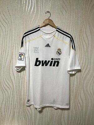 b2eece236dc Real Madrid 2009 2010 Home Football Soccer Shirt Jersey  7 Raul Adidas  E84352 • 79.99
