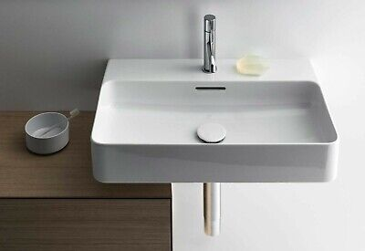 £160 • Buy Laufen Val 55x42cm 1 Tap Hole With Overflow Basin White Boxed 810282