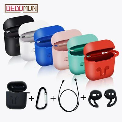 $ CDN5.20 • Buy AirPods Case Protective Kit Silicone Skin Holder Bag Apple Air Pod Accessories