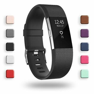 $ CDN6.80 • Buy Fitbit Charge 2 Sport Silicone Band Replacement Strap Small Large