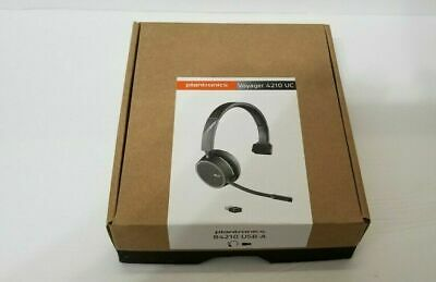 Plantronics Voyager 4210 Mono UC Bluetooth With USB-A Adapter Headset, MS Skype • 107.69£