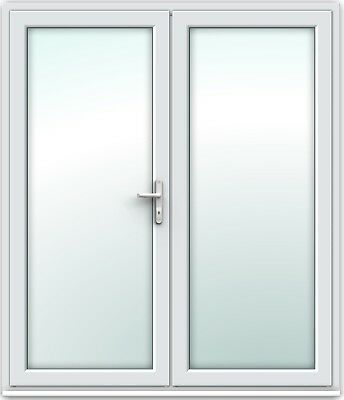 French Patio Door White UPVC - 1790mm X 2090mm - SAME DAY DISPATCH - Brand New • 630£