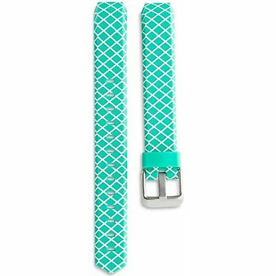 AU7.59 • Buy ONN Replacement Band - Fitbit Alta Mint Green/ White Design W/ Metal Buckle