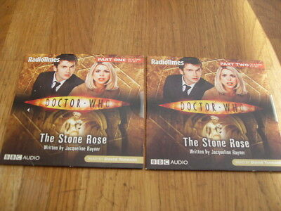 Doctor Who - The Stone Rose Prt 1/2 2 Newspaper  Dvd's • 1.49£