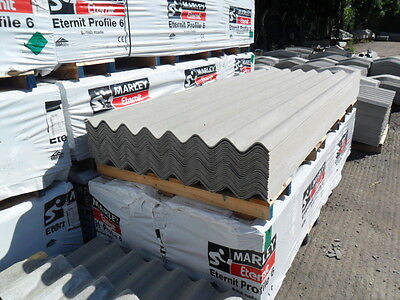 £26.40 • Buy Fibre-Cement Roof Sheets, 3inch And 6inch Profiles, Rooflights, Ridges, Fixings.