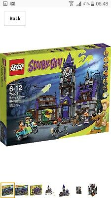 Lego Scooby Doo Mystery Mansion 75904 (Mint In Box) • 165£