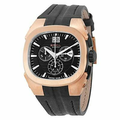 £612.28 • Buy Brand New Breil Milano Eros Gold Plated Chronograph Bw0413 Men's Watch  Leather