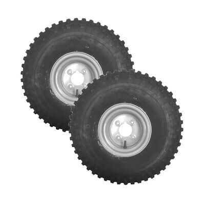 £154.99 • Buy 2 X QUAD/ATV WHEEL AND TYRE 22 X 11.00 - 8 OFF ROAD 4 PLY 4  PCD Flotation Tyre