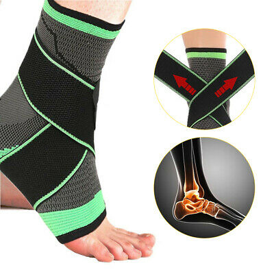 £5.49 • Buy Ankle Support Brace Compression Sleeve Foot Plantar Fasciitis Achilles Arch Heel
