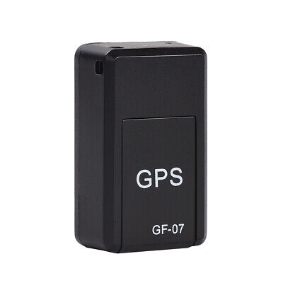 AU23.75 • Buy GF07 Mini Real Time GPS Smart Magnetic Car SOS Tracker Locator Tracking Device