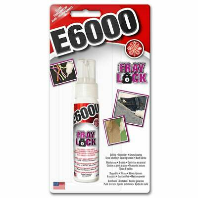 £7.90 • Buy E6000 Fray Lock Adhesive Glue For Quilting, Embroidery, Sewing, Ripped Jeans