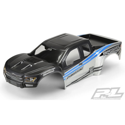 AU169.99 • Buy Proline 3482-13 2017 Ford F-150 Raptor Body For X-Maxx Pre-Painted & Pre-Cut Gre