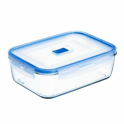 £10.96 • Buy Luminarc Pure Box Active Rectangular Food Container With Lid 197cl Tupperware