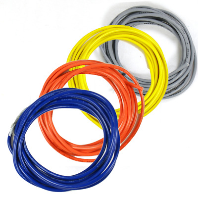 £10.27 • Buy 6-Ft Shielded Guitar Circuit Wire 1-Conductor 28AWG (Tangerine,Yellow,Gray,Blue)