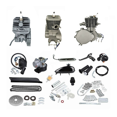 $ CDN599.95 • Buy ZoomBicycles Jet 66cc/80cc 2-Stroke Bicycle Engine Kit Bundle (Silver)