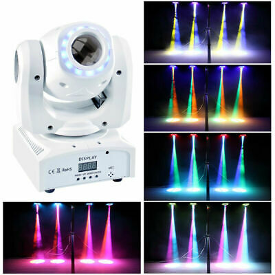 U`King 70W LED RGBW 8 Patterns Gobo Moving Head Stage Light  Disco DJ Party DMX • 67.99£