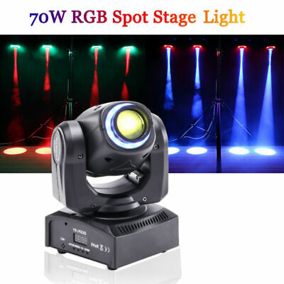 U`King 70W LED Stage Light  RGBW GOBO Moving Head DMX DJ Disco Party Magic Light • 86.39£
