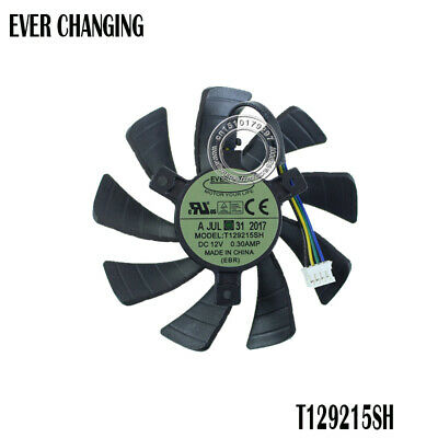 AU20.45 • Buy 85MM T129215SH  4PIN Cooler Cooling Fan For Zotac GeForce GTX 1060 3GB Itx Mini