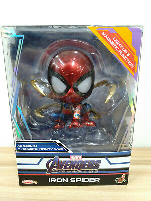 $ CDN64.80 • Buy Hot Toys Cosbaby Marvel Avengers: Endgame Iron Spider Light Up Version COSB559