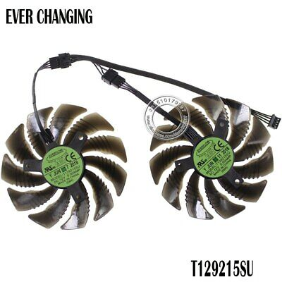$ CDN29.62 • Buy T129215SU Cooling Fan For Gigabyte GeForce GTX 1050 Ti RX 480 470 GTX 1060 G1