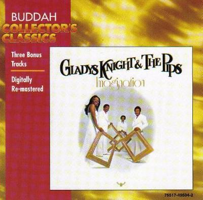 Gladys Knight & The Pips Imagination Cd Remastered+3 Bonus Tracks Free Uk Post • 19.89£